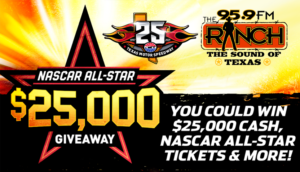 NASCAR ALL-STARR $25,000 GIVEAWAY AT SUMMER SKY TREATMENT CENTER