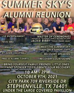 Summer Sky Rehab Annual-Alumni-Reunion